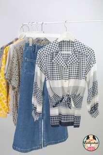 🚚 🍿 Vintage Blouse VB2100