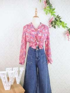 🚚 🍿 Vintage Blouse VB2123