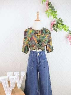 🚚 🍿 Vintage Blouse VB2124