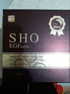 SHO 馬油 set EGF 瘦面精華7支