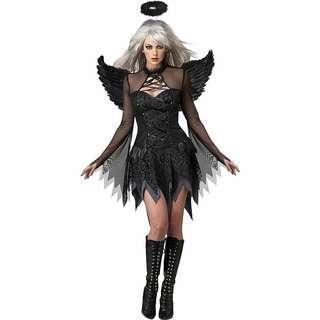Fallen Angel Black Dress