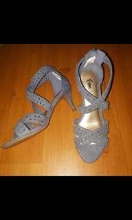 Denim heels payless
