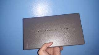 Brand New Original Charles & Keith Front Flat Long Wallet (CK)