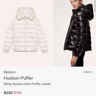 Aritzia Babaton Hudson Puffer