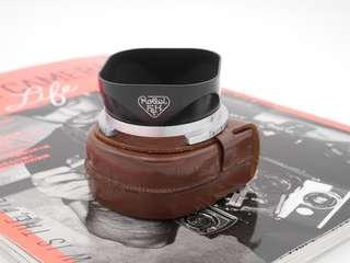 Rolleiflex Bay III Rollei Hood + Leather case