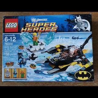 🚚 (Clearance) LEGO Super Heroes Arctic Batman vs Mr Freeze 76000