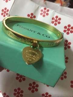 Tiffany Bracelet-Gold