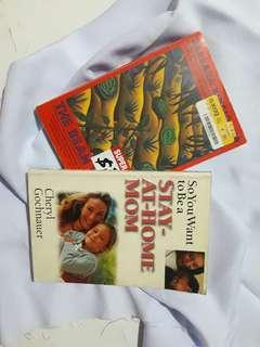 The Bean Trees (by Barbara Kingsolver) & So You Want to Be a Stay-At-Home Mom (by Cheryl Gochnauer)
