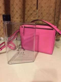 🚚 ELLE A5透明質感水瓶
