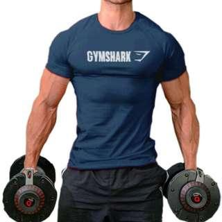 Gymshark professional sports cotton elastic t-shirt