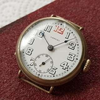 Vintage Lancet Trench Military Watch