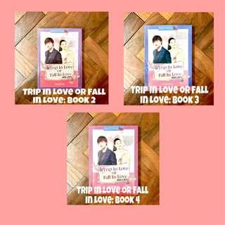 Trip In Love or Fall In Love Book 2,3, and 4