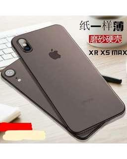 IPhone XS/XR Ultra Thin Matt Case