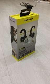 Awei Bluetooth Wireless Sports Headset NFC Waterproof