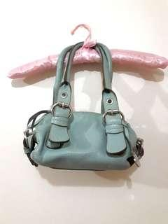 Authentic Rabeanco Iconic Mini Handbag (Blue)