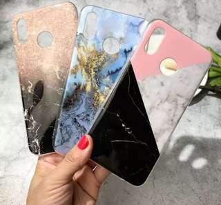 (PO) For Funda Huawei P20 Lite P30 Pro Case Silicone Marble