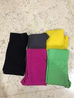 Stocking 5 colors