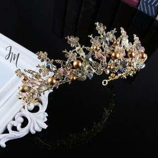 Hairpiece crown hairpiece hairpin hair accessories