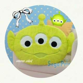 日版三眼仔公仔咕臣☆BIG!!日本直送 迪士尼/反斗奇兵/玩具總動員/Disney/Toy story/Alien/plush/cushion/soft toy/kids doll