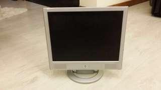 "HP Flat-Panel Screen Computer Monitor 15"""