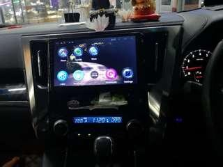 Car Android player 10.1 inch lastest version