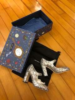 Dolce & Gabbana mermaid heel in silver