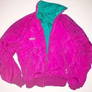 Reversible Vintage Columbia Jacket