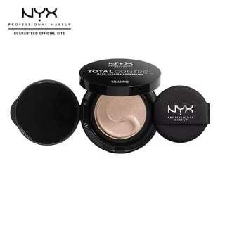 NYX Professional Makeup Total Control Mesh Cushion Foundation -Light