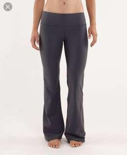 Lululemon groove pants grey