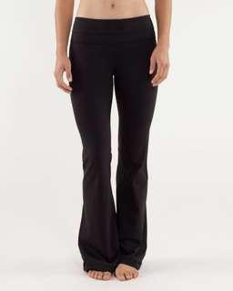 Lululemon groove pants black