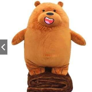 (READY STOCK) We Bare Bear (Blanket) Soft Toys