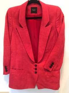 New Smythe Pink Tuxedo Blazer - Size 4