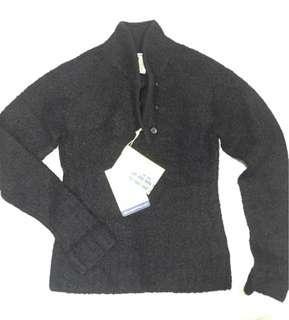 EXOFFICIO全新毛料保暖毛衣-黑色