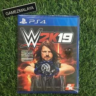 [NEW] PS4 WWE 2K19 R3 - ACCEPT TRADE-IN   NEW PS4 GAMES (GAMEZMALAYA)