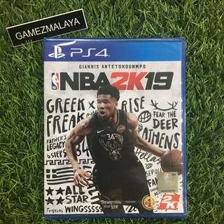 [NEW] PS4 NBA 2K19 R3 - ACCEPT TRADE-IN   NEW PS4 GAMES (GAMEZMALAYA)