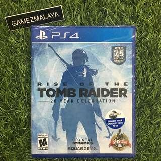 [NEW] PS4 RISE OF TOMB RAIDER R1 - ACCEPT TRADE-IN   NEW PS4 GAMES (GAMEZMALAYA)