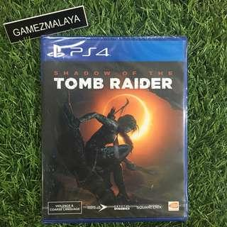 [NEW] PS4 SHADOW OF TOMB RAIDER R3 - ACCEPT TRADE-IN   NEW PS4 GAMES (GAMEZMALAYA)