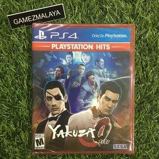 [NEW] PS4 YAKUZA 0 R1 - ACCEPT TRADE-IN   NEW PS4 GAMES (GAMEZMALAYA)