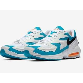 Authentic Nike Air Max 2 Light Blue