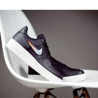 Authentic Nike Air Force 1 '07 SE PRM Black Jelly
