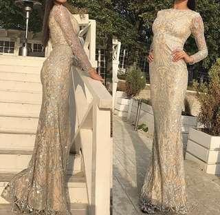 (RENT RM30) Glitter full dress