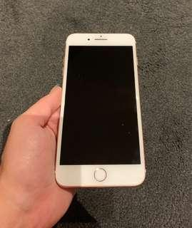 Rose Gold iPhone 7plus 128gb