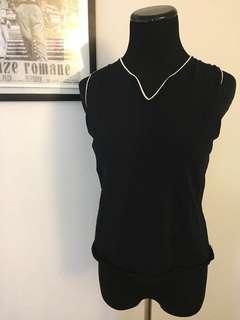 Black vintage top