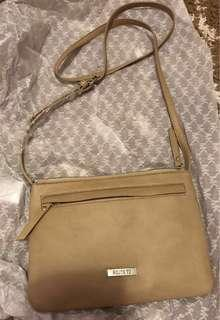 Roots73 beige purse brand new without tag