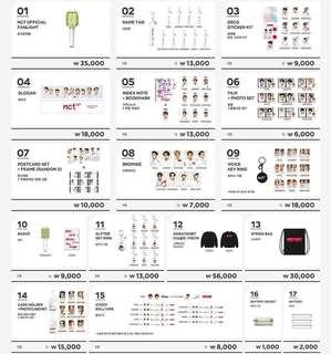 [CLOSE TODAY] NCT NEO CITY CONCERT GOODS