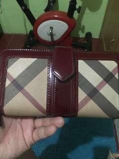 Burberrry long wallet original