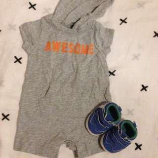 Baby clothes • Take all • nb-3mos