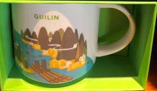 Starbucks You Are Here Guilin