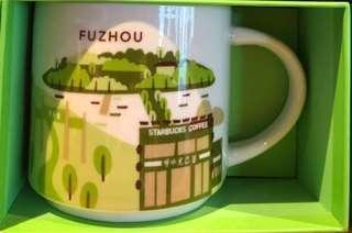 Starbucks You Are Here Fuzhou