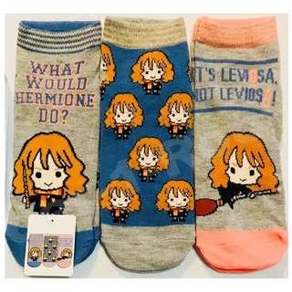 Harry Potter Hermione Granger Emoji Character Socks (Limited Edition)